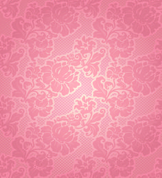 Fabric of Floral Patterns design vector set 01