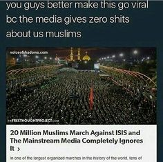 As a Muslim this angers me that people think that we like or agree with ISIS, we don't and stop fucking discriminating and judging us, ur just making our lives hellish to live