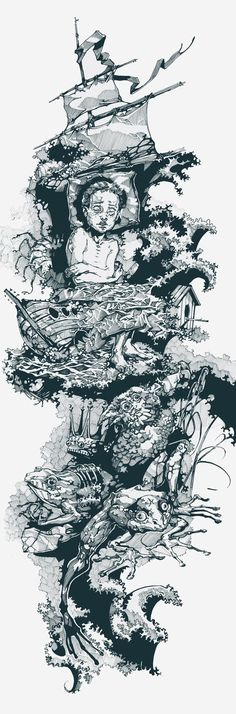 Drawing by Viktor Miller-Gausa
