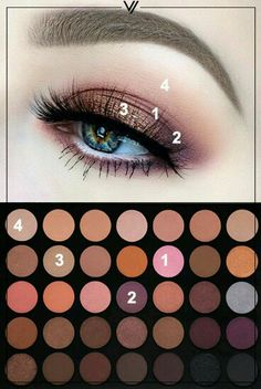 Make-up Revolution: Morphe - 35 Farbwarmpalette - VORANA Make-up R. - Make-up Revolution: Morphe – 35 Farbwarmpalette – VORANA Make-up Revolution: Morp - Makeup Goals, Makeup Inspo, Makeup Art, Makeup Inspiration, Beauty Makeup, Makeup Geek, Skin Makeup, Makeup Brushes, Makeup Morphe