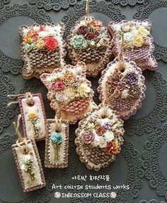 인블러썸ICINGCOOKIE & FLOWER CAKE @inblossom9_woo - . . 아트반 회원작품 Art course s...Yooying