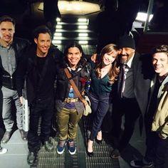 #TheFlash cast - teddysears: Let's go to Earth-2.