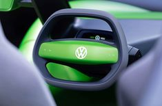 bright green electric volkswagen ID reimagines the iconic beach buggy Vw Beach, Beach Buggy, Volkswagen Models, Volkswagen Group, Volkswagen Beetles, Green Electric, Terrain Vehicle, Automobile, Tecnologia
