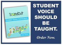Student voice should be taught. Student Voice, Curriculum, The Voice, Teaching, Education, Books, Resume, Libros, Teaching Plan