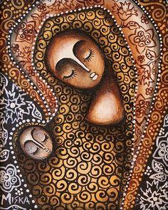 Virgin Mary by Miska