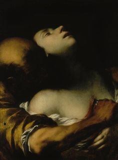 The Death of Sta Agnes, Francesco del Cairo,1635.