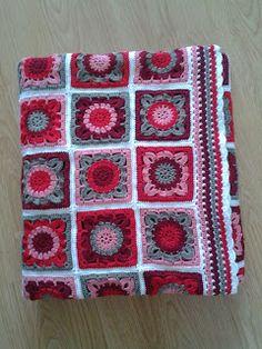 Prachtige deken van Karisma, een van de bij ons verkrijgbare wolsoorten. creadinah: Gelukt