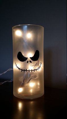 Jack nightlight/nightmare Before by KarensWineSeller on Etsy