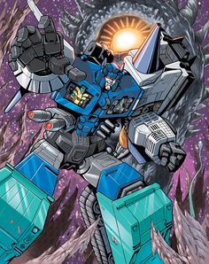 I'm re-posting the Transformers I did for the Genesis book I was never paid for back in the day. Please enjoy this collection of rarely seen art from various creators as I did the digital colors fo...
