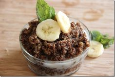 Chocolate Quinoa Protein Cereal by glowkitchen #Cereal #Protein #Quinoa #Chocolate #Healthy