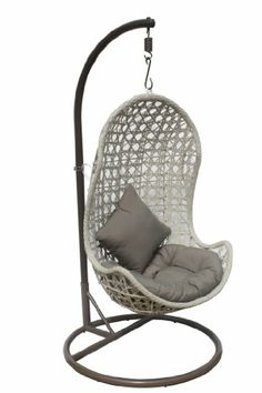 the parlay rattan outdoor wicker patio swing chair i want