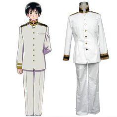 Axis Powers Hetalia Japan Honda Kiku 1ST Cosplay Costumes