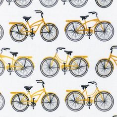 Everyday Favorites Cruisers in Yellow by by freshsqueezedfabrics, $9.00