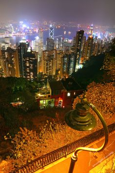 HK Night - View from the Peak