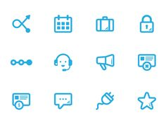 Marketing Icon Set  by Pin-Bo Tsai
