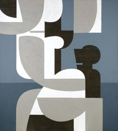 Yannis Moralis 1916 - 2009 GREEK FULL MOON L signed in Greek and dated 1977 lower right; signed, dated and inscribed Athènes-Grèce on the reverse acrylic on canvas 196 by 178cm., 77¼ by 70in.