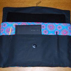 Housse ordinateur portable 17 pouces psychedelique seventies