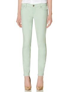 678 Soft Legging Jeans - Luxuriously soft, these polished pants are so comfortable, yet oh so stylish.