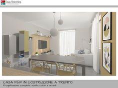 Progettazione soggiorno con cucina separata   Livingroom   Pinterest