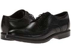 Rockport City Smart Wing Tip Oxford (Black) Men's Lace up casual Shoes Rockport Shoes, Branded Bags, Timeless Fashion, Black Men, Casual Shoes, Oxford Shoes, Dress Shoes, Lace Up, Style Inspiration