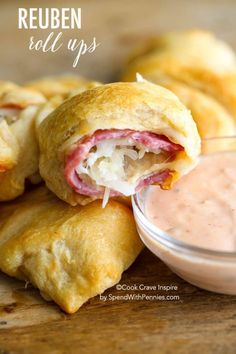 Reuben Roll Ups! All of the deliciousness of a reuben sandwich in an ...