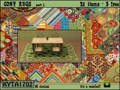 Kyta1702's Cony rugs part1