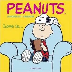 Peanuts Love Is 2011 Calendar