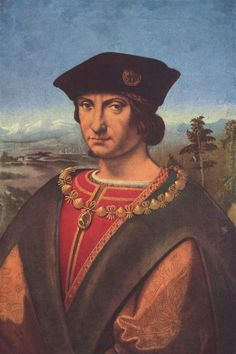 Gentleman wearing and Italian Renaissance Accessories, the black velvet hat and brooch worn the 2nd half of the 1500's