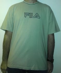 175 - #tshirt #maglietta #fila #logo #sport @XL