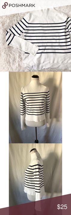 5fdfd7553c3e06 ZARA black and white mock turtleneck long sleeve Brand  Zara Size  M  Condition