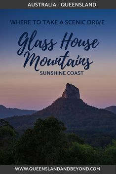 Taking a scenic drive is one of the best ways to appreciate the dramatic landscape of the Glass House Mountains in the Sunshine Coast Hinterland. Here's how to do it, including ideas for walks and lookouts not to miss. 🌐 Queensland & Beyond #australia #queensland #sunshinecoast #roadtrip #scenicdrive #glasshousemountains