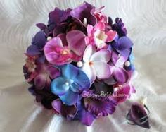 frangipani and peony bouquet - Google Search