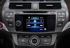 2013 Honda Crosstour - audio player?