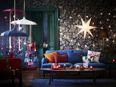 Kerst 2016: Ikea Kerst Trends 2016 - Van een Bohemian Kerst tot Traditionele en Luxueuze Kerstdecoratie voor de Kersttafel. LEES MEER... (Foto Ikea  op DroomHome.nl)