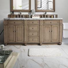 Want to Lambrecht 72 Double Bathroom Vanity Base Bathroom Vanities Without Tops, Bathroom Vanity Base, Vanity Set, Bath Vanities, James Martin Furniture, Kitchen Bath Collection, Wood Backsplash, Wood Look Tile, Bathroom Essentials