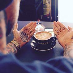"""Find love"" #tattoo"
