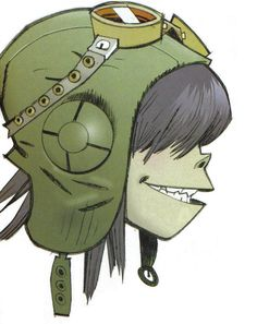 Here is a place where I will post all of the official Gorillaz art. I claim none of this art and it is all created by Jamie Hewlett. I will NOT be posting any fan art (including edits). Gorillaz Noodle, Gorillaz Art, 2d And Murdoc, Jamie Hewlett Art, Jaguar, Damon Albarn, Tank Girl, Cosplay, Cool Bands