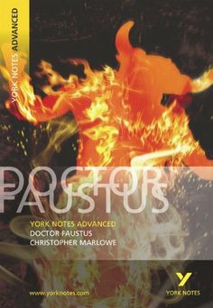 822.9 MAR/BAR York Notes Advanced on Dr.Faustus By Christopher Marlowe