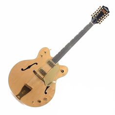 Gretsch G6122-12 Chet Atkins Country Gentleman 12-String - Amber Satin with Case