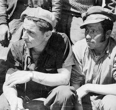 THE SPANISH CIVIL WAR, 1936-1939  The International Brigades: Sam Wild (left), Commander of the British Battalion from March 1938.