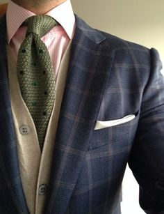 Perfect officewear blend... Get noticed at the coffee station... #suitandtie