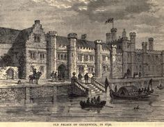 Old Palace of Greenwich in 1630.