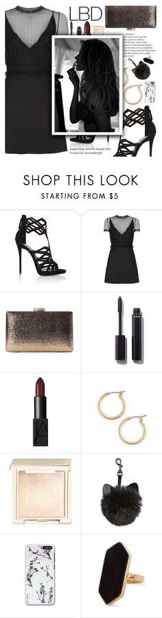 """Little Black Dress"" by anarita11 ❤ liked on Polyvore featuring Giuseppe Zanotti, Valentino, Natasha, Chanel, NARS Cosmetics, Nordstrom, Jouer and Jaeger"