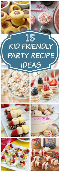 Toddler Birthday Party Finger Foods Pretty My Party