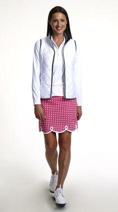 Shirley Temple Cotton Skort Womens Golf Fashion http://www.golftiniwear.com/new-shirley-temple-skort/
