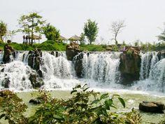 Giang Điền waterfall in Dong Nai 3 Vietnam Destinations, Vietnam Tours, Vietnam Travel, Vietnam Airlines, Travel News, Ecology, Niagara Falls, Waterfall, River
