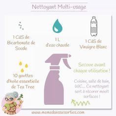 Nettoyant multi usage   (Mémé dans les orties)