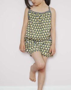 LOVE the faux romper look! Elegance and Elephants Bubble Pocket Shorts by Sanae Ishida