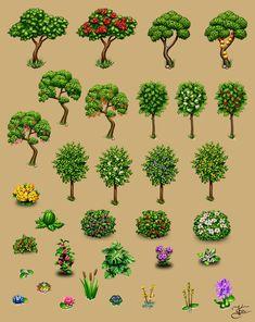 Farm plants by Goramitrio on DeviantArt