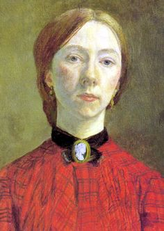 Gwen John (Welsh, 1876-1939), Self-Portrait, 1902 Gwen was the sister of Augustus John. Like him she studied at the Slade School of Art. In 1903 she traveled to France and a year later found work as a...